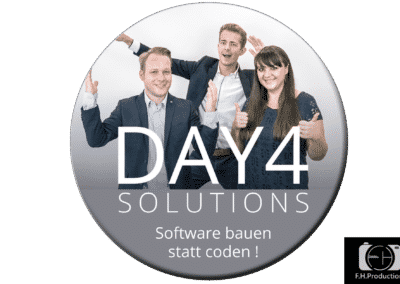 Werbebild Day4Solutions für Werbung auf Bussen
