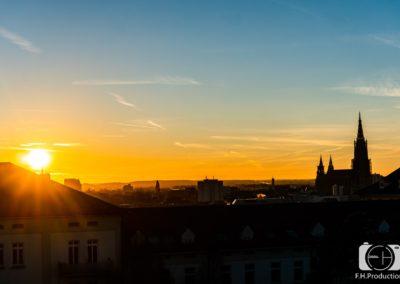 Sonnenaufgang Ulm