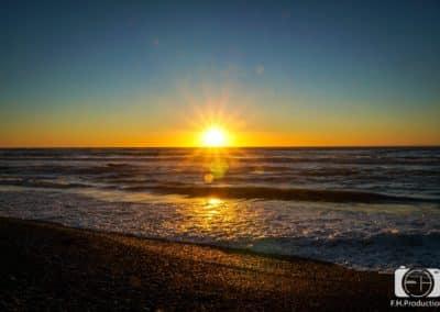 Sonnenuntergang - Neuseeland