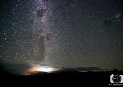 Sternenhimmel - Neuseeland